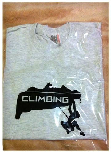 tričko climbing
