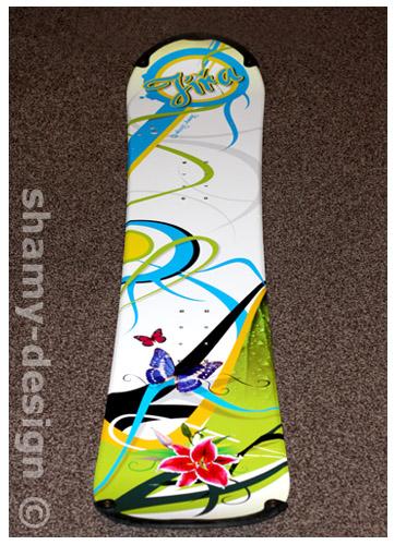 snowboard polep