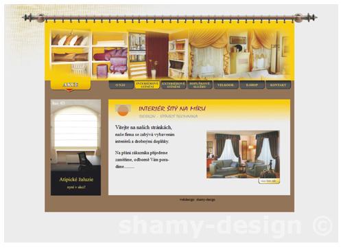 webdesign interier
