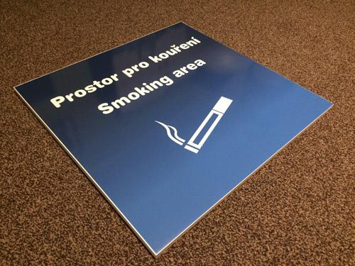 zákaz kouření web